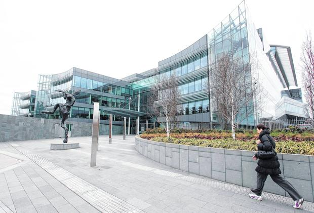 Facebook plans to move more than 2,000 staff from Grand Canal Dock to the AIB Bankcentre in Dublin's Ballsbridge