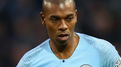 Fernandinho: Playing his best football. Photo: Getty Images