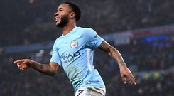 Raheem Sterling. Photo: Getty Images