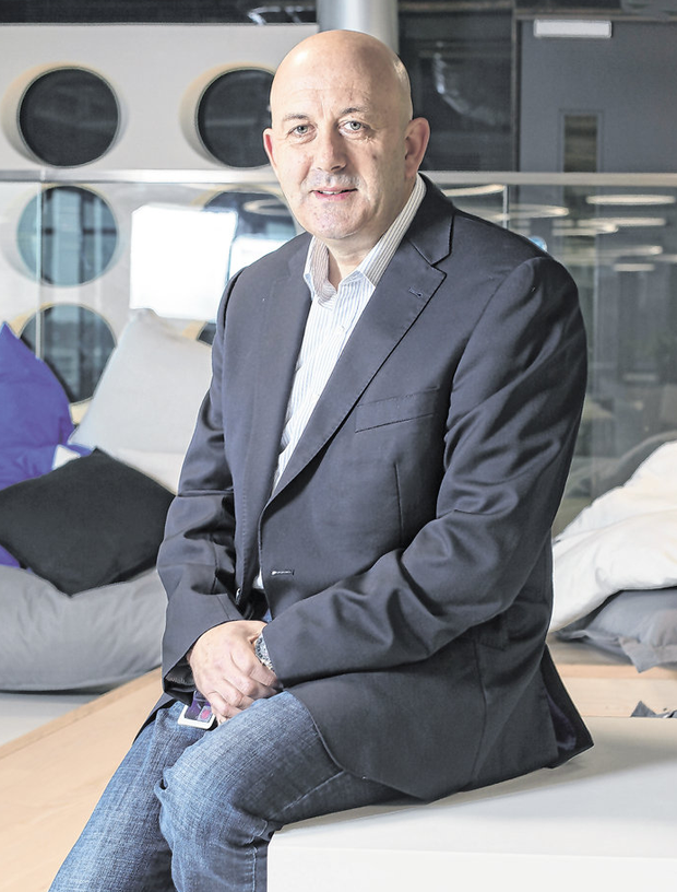 Patrick Scully, Vice President of Oath in Ireland, at the firm's headquarters at The Point, Dublin. Photo: Tony Gavin