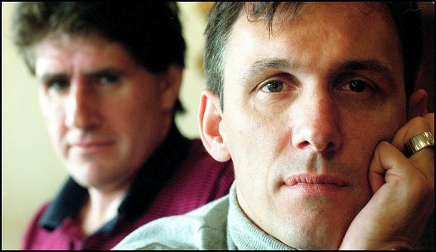 Tony Cascarino: 'In England, if you are overweight but take a drink and are one of the lads then you're acceptable. But in France it's different.' Photo: David Conachy
