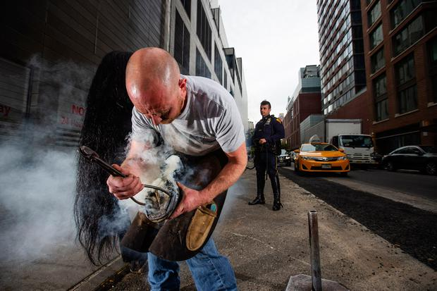 Irish photographer Condren steps in to capture life in the NYPD