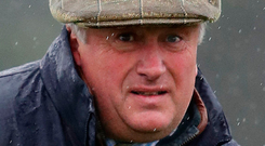 Trainer Paul Nicholls. Photo: PA