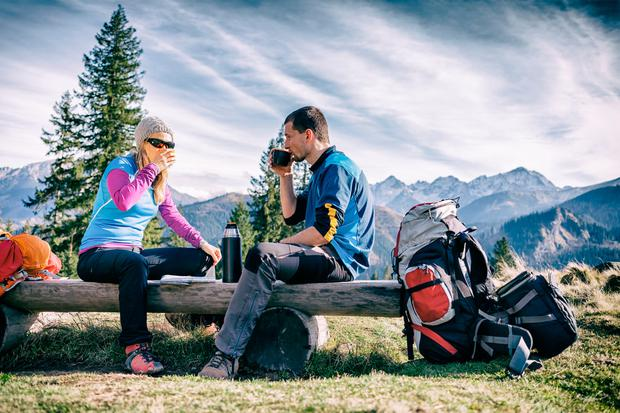 Get outside as much as you can. Stock picture
