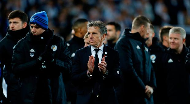Leicester boss Claude Puel praises tribute to Vichai Srivaddhanaprabha after emotional day at King Power Stadium