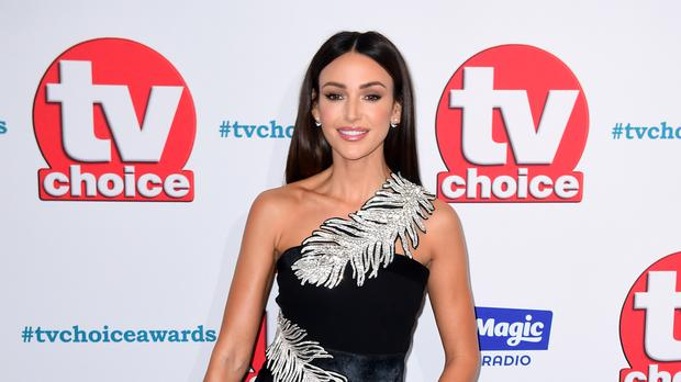 Michelle Keegan has urged women to take smear tests (Ian West/PA)