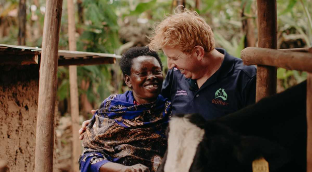 Tommy Fleming makes emotional trip to Rwanda to meet victims of genocide and record charity Christmas single
