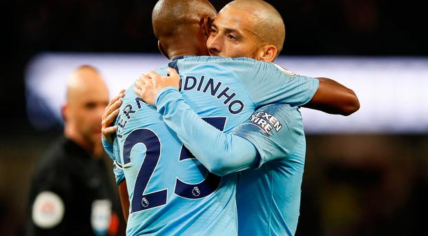 Manchester Derby player ratings: David Silva shines as Guardiola's men go 12 points clear of rivals