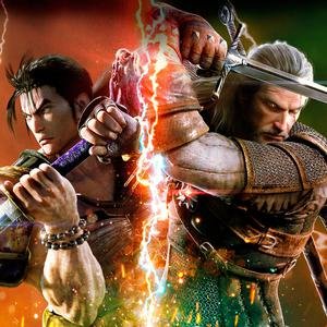 SoulCalibur VI includes special guest Geralt (right) from The Witcher, as well more familiar characters