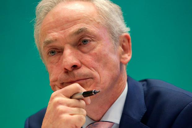 Richard Bruton replaced Denis Naughten as Communications Minister. Photo: Damien Eagers