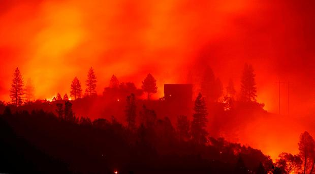'Devil winds' fan the flames as death toll in California rises to 25