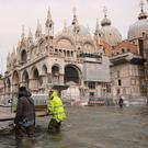 """Venice was inundated for several days in October as """"acqua alta"""" or high water, rose more than five feet. Photo: Manuel Silvestri/Reuters"""