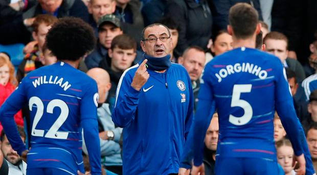 Record-breaking Sarri 'proud' of Chelsea but wants clinical edge