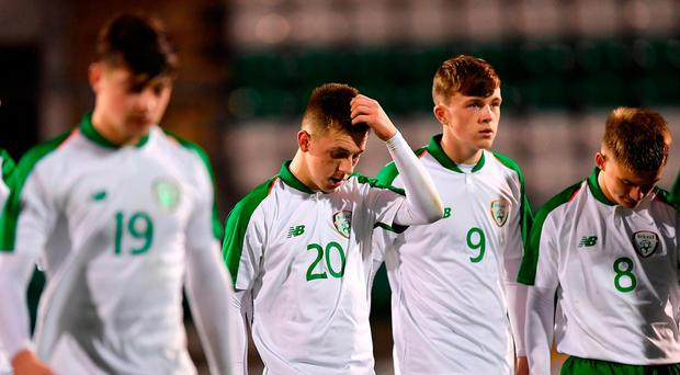 Harsh lessons for Ireland's U-17s along Euro route