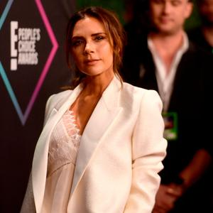Victoria Beckham attends the People's Choice Awards 2018 at Barker Hangar on November 11, 2018 in Santa Monica, California. (Photo by Matt Winkelmeyer/Getty Images)