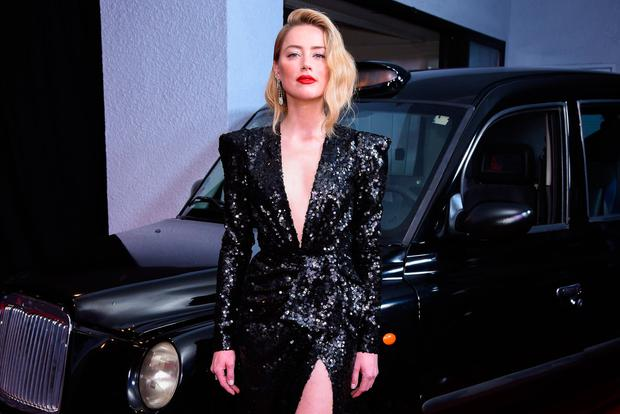 Amber Heard attends Premiere Of