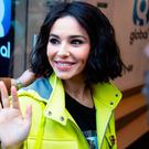 Cheryl arrives at Global Radio in Leicester Square, London, to appear on Capital Breakfast with Roman Kemp