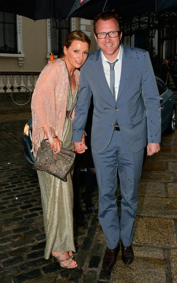 Jason Byrne and Brenda Byrne in 2014
