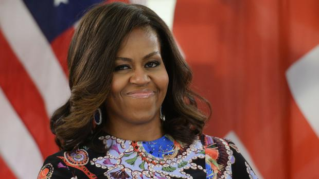 Mrs Obama is releasing a memoir entitled Becoming (Stefan Rousseau/PA)