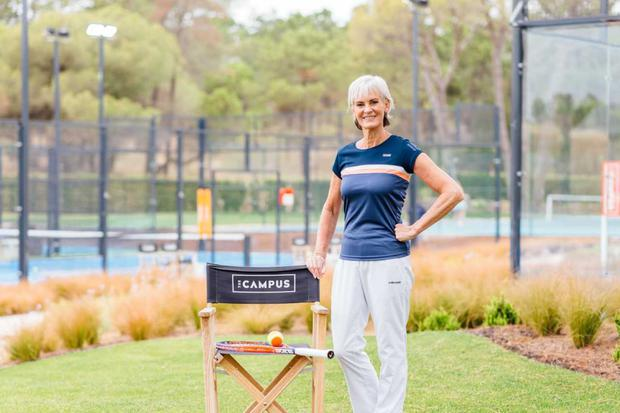 Judy Murray was speaking at The Campus, Quinta do Lago