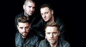 Clockwise from left: Keith, Shane, Mikey and Ronan begin their farewell tour on November 25