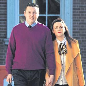 Criticism: Mr Justice Peter Charleton described some parts of Garda Keith Harrison and partner Marisa Simms's story as 'nonsense' in his report. Photo: Gareth Chaney/Collins