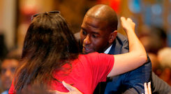 New hope: Florida governor race candidate Andrew Gillum. Photo: Getty