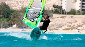 Keen windsurfer Lorenzo Cubeddu found his survival skills came in useful when he drifted out to sea