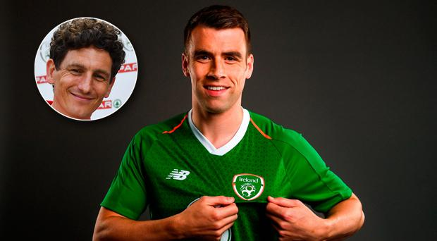 Seamus Coleman took issue with Keith Andrews' comments last month