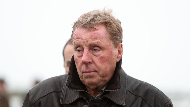 Harry Redknapp during 188 Bet Haldon Gold Cup Day at Exeter Racecourse.