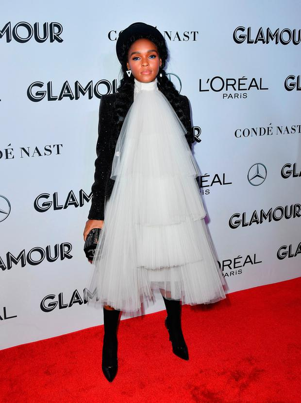 Singer-songwriter Janelle Monae attends the 2018 Glamour Women Of The Year Awards: Women Rise on November 12, 2018 in New York City. (Photo by Angela Weiss / AFP)