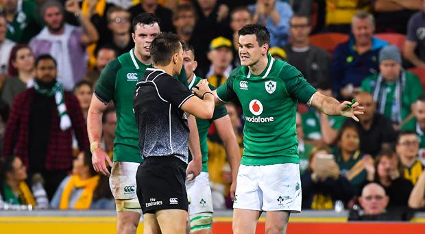 Four Changes As Schmidt Names Ireland Team To Play All Blacks