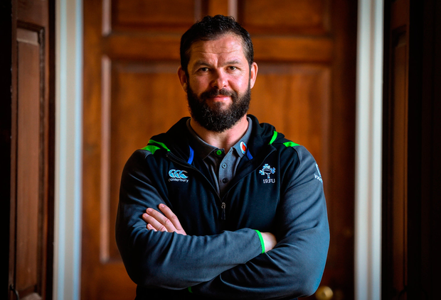 Only three northern hemisphere teams have beaten New Zealand this decade and Andy Farrell has been a coach with all of them. Photo: Sportsfile