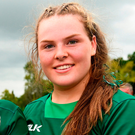Teenage kicks: Sixteen-year-old Beibhinn Parsons has been named on the Ireland bench. Photo: Sportsfile