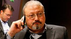 Killing planned: Jamal Khashoggi was killed on October 2 in Turkey. AP photo