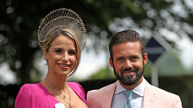 Vogue Williams and Spencer Matthews will star in their own reality show. (Steve Parsons/PA)