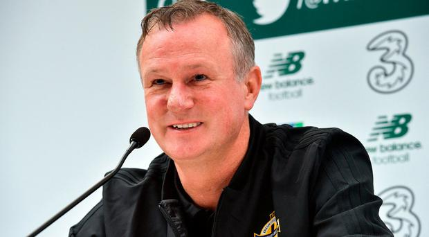 'Both squads are in transition' - Michael O'Neill expecting close battle at the Aviva