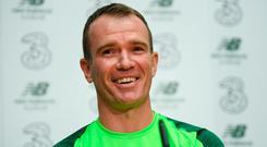 Scathing criticism: Glenn Whelan says there were certain times when it got a little bit too much. Photo: Sportsfile