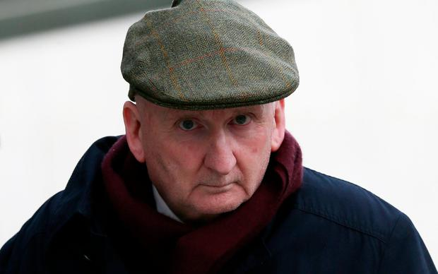 Charged: Former rugby coach John McClean leaves the Dublin District Court. Photo: Collins Courts
