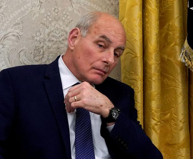 White House Chief of Staff John Kelly. Photo: Reuters