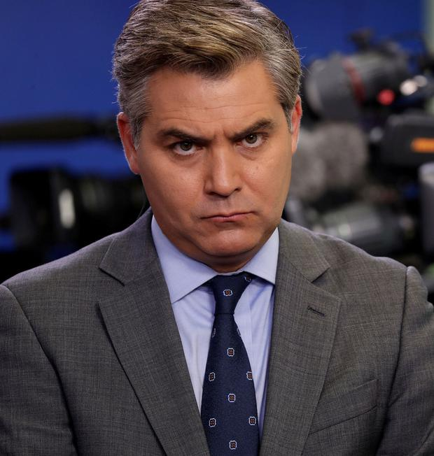 Jim Acosta: The CNN reporter received support from Fox News. Photo: Carlos Barria