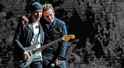 "U2 frontman Bono, on the final date of their world tour in Berlin on Tuesday night, said the band would be ""going away now"". It has led to speculation on the future of the band, 42 years after they got together at Mount Temple Comprehensive. Photo: Getty Images"