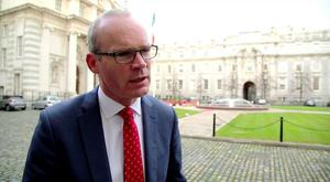'British Prime Minister has followed through on her commitments to Ireland' – Tánaiste Simon Coveney. Photo: Johnny Brew/Independent.ie