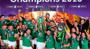 The Ireland rugby team