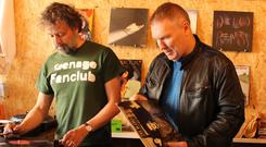 Neil Goodman and Brian O'Flaherty of The Vinyl Festival