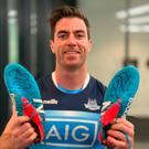 Following Dublins All-Ireland victory, Concern Worldwide is giving away a pair of boots worn by midfielder Michael Darragh Macauley during his teams epic win over Tyrone at Croke Park in September. Image credit: The Herald.