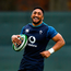 15 November 2018; Bundee Aki during Ireland Rugby squad training at Carton House in Maynooth, Co. Kildare. Photo by Ramsey Cardy/Sportsfile