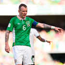 11 June 2017; Glenn Whelan of Republic of Ireland during the FIFA World Cup Qualifier Group D match between Republic of Ireland and Austria at Aviva Stadium, in Dublin. Photo by Seb Daly/Sportsfile