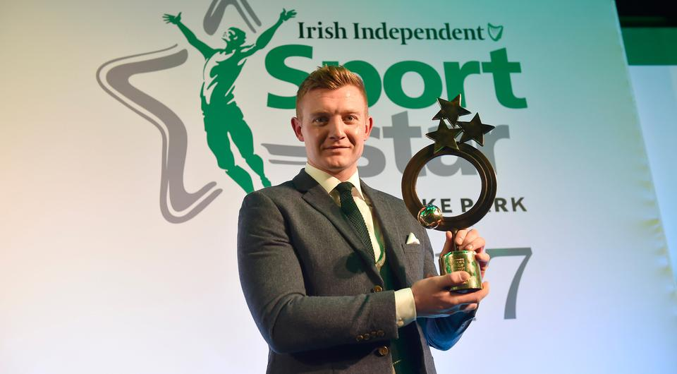 Joe Canning winner of the Irish Independent Magic Sports Moment 2017