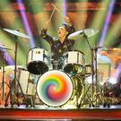 Joe Sugg drew the judges' ire for counting out loud (Guy Levy/PA)